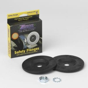 AIRWAY BUFF SAFETY FLANGE H/D NYLON