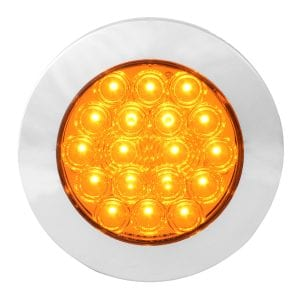 4 inch LED Light Amber