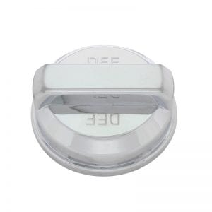 Chrome Plastic DEF Tank Cap Cover