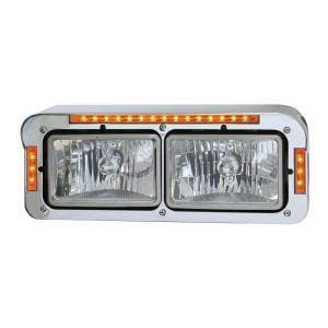 LED Dual Rectangular Headlight Cover3