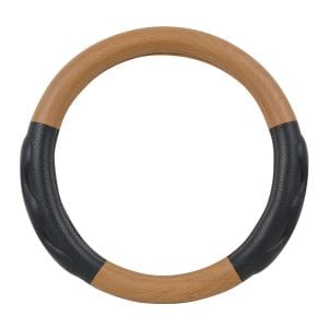 Light Wood Steering Wheel