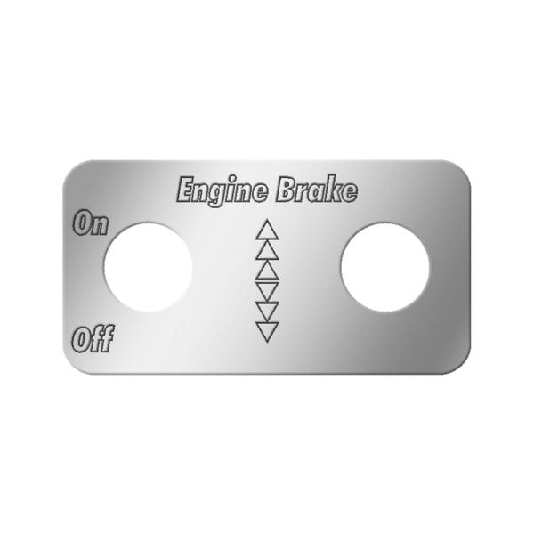 DUAL SWITCH PLATES FOR KENWORTH