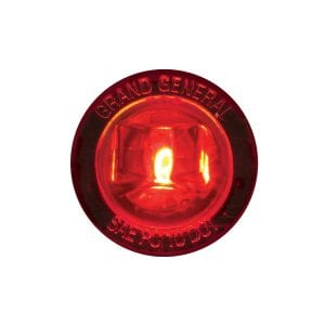 1″ DIA. MINI PUSH/SCREW-IN WIDE ANGLE LED MARKER LIGHT