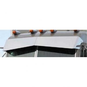 Peterbilt BLIND MOUNT SUPER UN-TIE DROP VISOR
