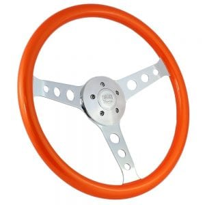 18 Chrome Sebring Painted Steering Wheel Orange