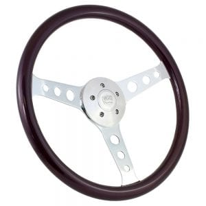 18 Chrome Sebring Painted Steering Wheel Purple