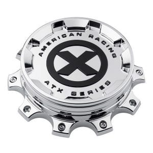 ATX Series Polished Bolt On Hub Cap