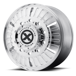 ATX OTR Series AO403 Roulette Polished Steer Axle Wheels