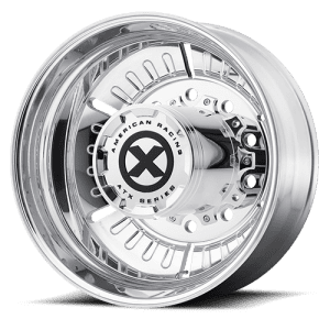 ATX OTR Series AO403 Roulette Polished Drive Axle Wheels