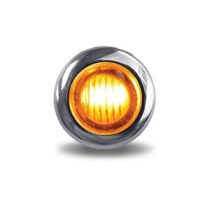 """Dual Revolution Amber to Blue Auxiliary 3/4"""" LED Button Light"""