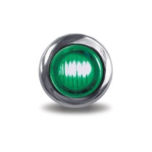 """Dual Revolution Red to Green Auxiliary 3/4"""" LED Button Light"""