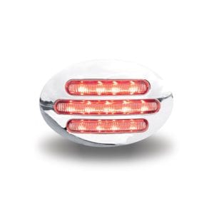Dual Revolution Amber to Red Auxiliary LED Marker Light