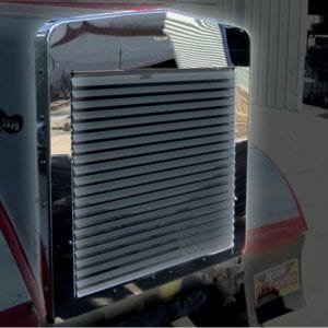 Kenworth W900L Stainless-Steel Grill Surround
