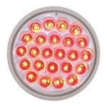 Red-Clear Pearl LED