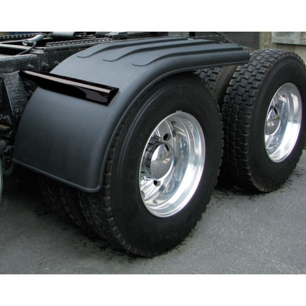 Black Poly Half Fenders