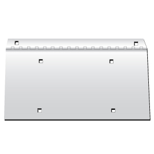 Hinged License Plate Holder