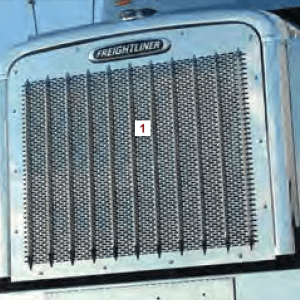 Freightliner Classic Punched Grills