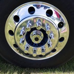 Chrome Plated Billet Aluminum Oil Cap Cover - Lifetime Nut Covers