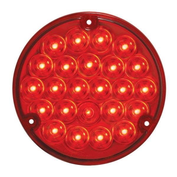 """grand general 78272 4"""" red led red lens"""