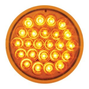 4 in amber pearl led