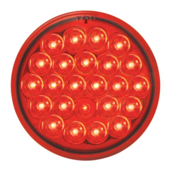 """4"""" red grand general pearl led"""