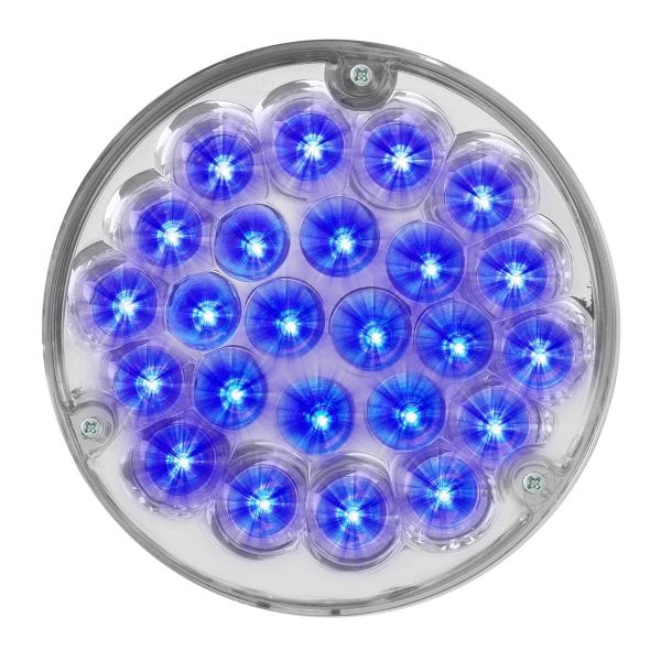"4"" clear lens blue led truck light"