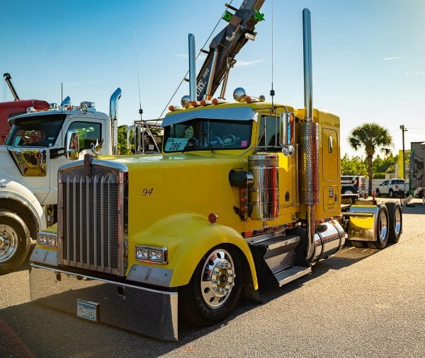 Kenworth W900 Bumpers