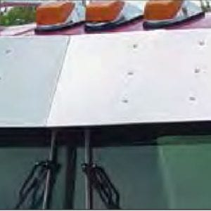 kenworth Flat windshield visor