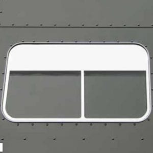 "70"" Sleeper side chop top window trim"