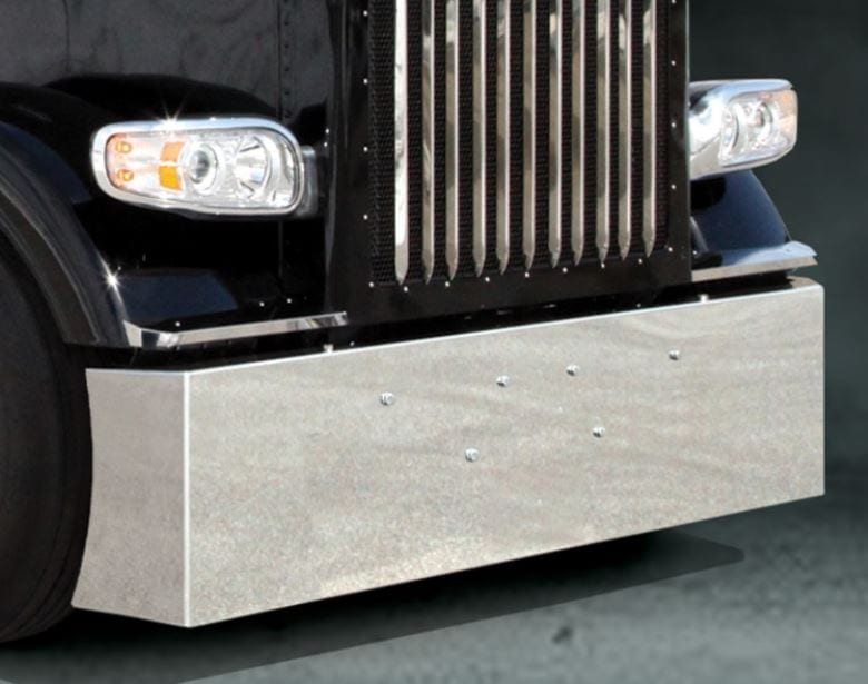 18 Inch American Eagle Peterbilt Bumper - Stainless Steel