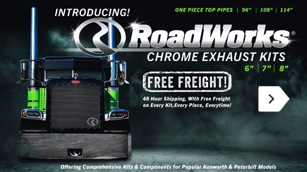 RoadWorks Exhaust Kits