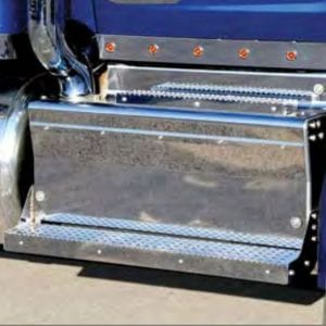 Peterbilt 579 Battery Box Cover and Steps