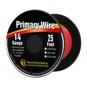 14-Gauge Primary Wire Red