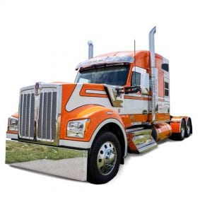 Kenworth W990 Bumpers