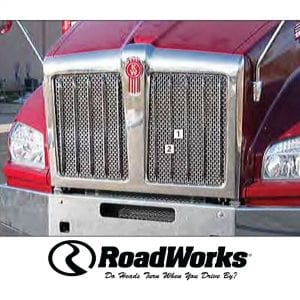 Kenworth T880 Grille Insert - Punched Grille Insert