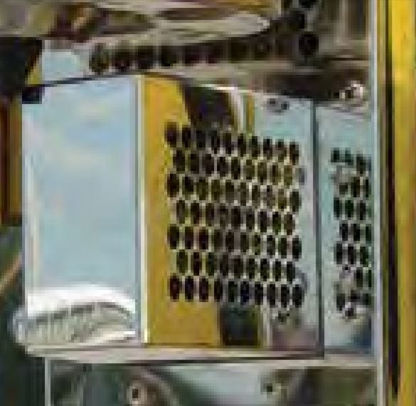 """Cab Air Intake Replacement with 1/4"""" Round Punched Holes - International Non-I"""