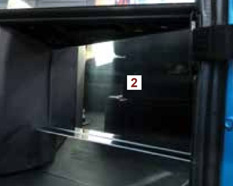 Under Glove Box Kick Panel - International HX520