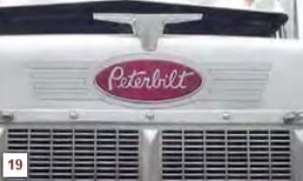 indian feathers grille logo trim