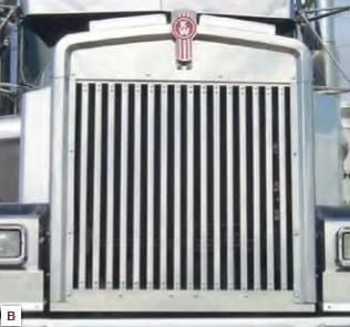 W900L replacement grill 16 vertical bars